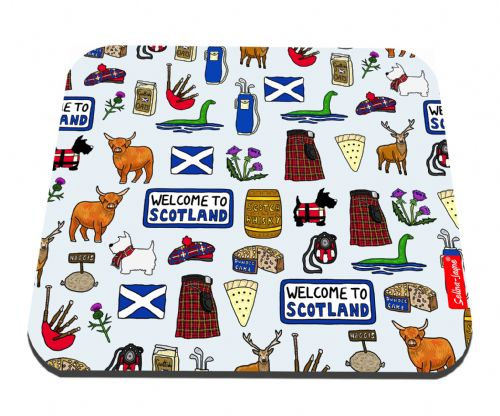 Selina-Jayne Scotland Limited Edition Designer Mouse Mat